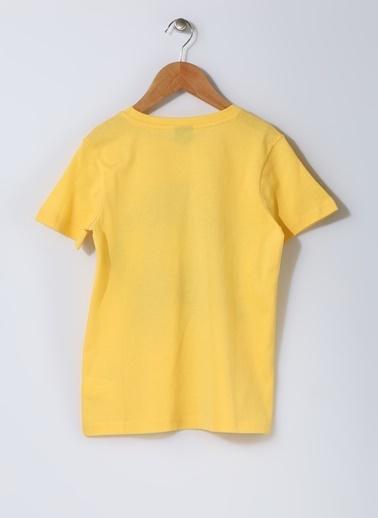 Limon Company Limon Batman Baskılı T-Shırt Sarı